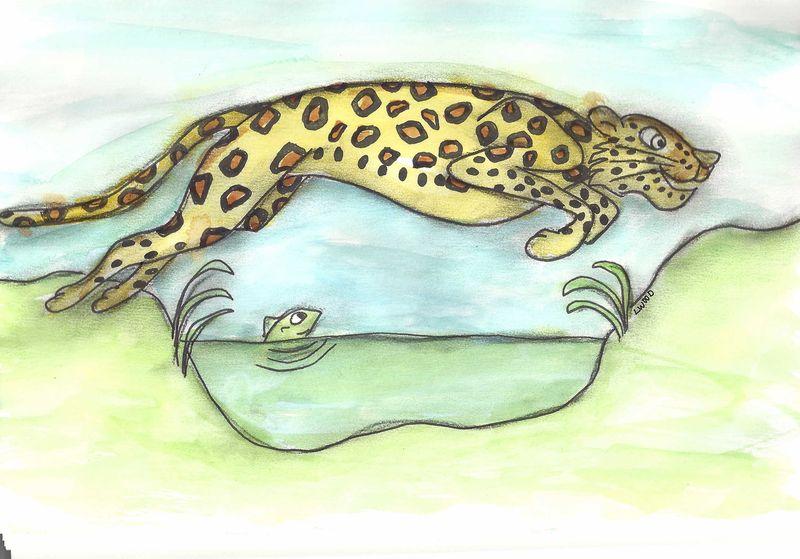 Leapin leopard_sm